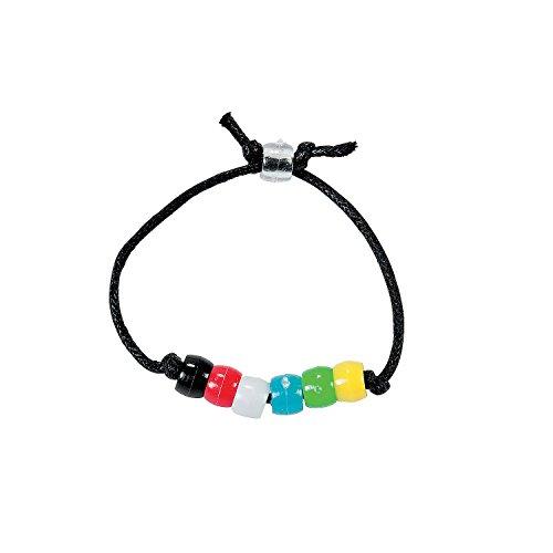 Fun Express Colors of Faith Bracelet Craft - Craft Faith Bracelet Kit