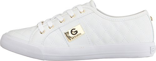G by GUESS Women's Oadie White 8 M US