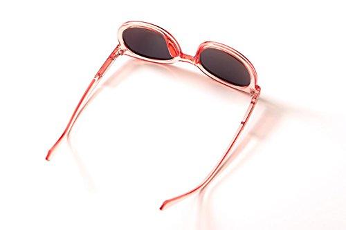 de Ladies boîte Lunettes Soleil Transparente YANXJING Nouvelle Fashion polarisée cO1WWg0B
