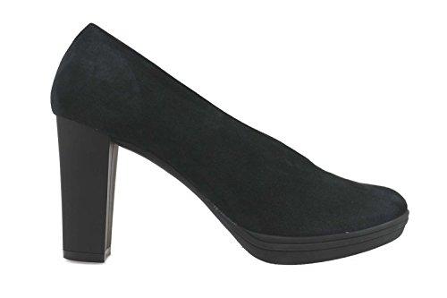 WILLYS AM809 escarpins femme noir daim