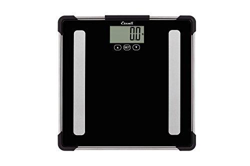 Escali Bath BF180 Slim Bathroom Scale, Black by Escali Bath