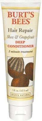 Grapefruit Deep Conditioner - Burt's Bees Shea & Grapefruit Deep Conditioner 5 oz. (Pack of 3)
