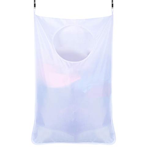 Garish  Storage Bag Square Mouth Large Capacity Pocket, Can Reusable Eco Bag,Multifunction Home Storage Bag White by Garish (Image #1)