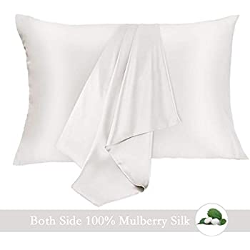 Amazon Com 100 Pure Natural Mulberry Silk Pillowcase For