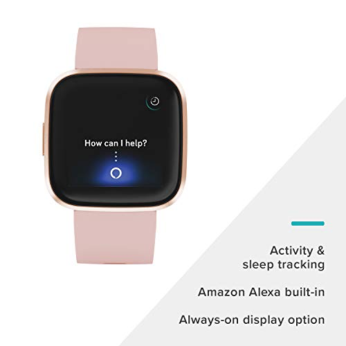 Fitbit Versa 2 Health and Fitness Smartwatch with Heart Rate, Music, Alexa Built-In, Sleep and Swim Tracking, Petal… 2