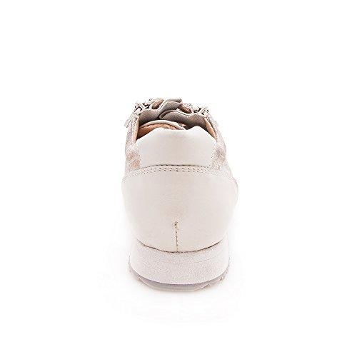 Deporte de Deporte Deportivas Zapatillas Casual Beige Zerimar en Piel Mujer Zapatillas Zapatillas Mujer Deporte Zapatillas 45xRE