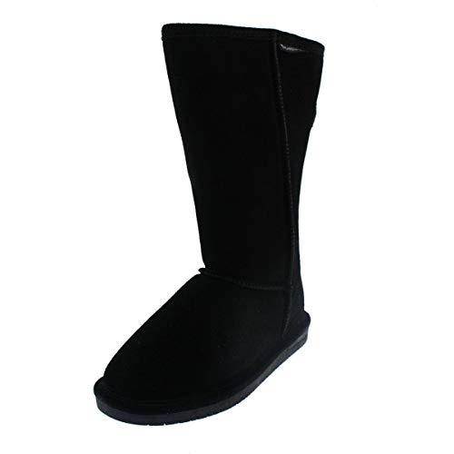 BEARPAW Women's Emma Tall Winter Boot, Black, 9 M US from BEARPAW