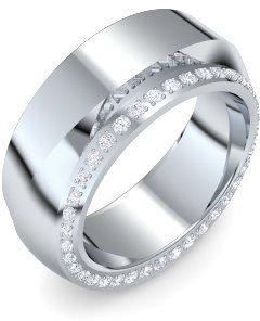 Weißgold ring damen  Weißgold Ring Zirkonia 585 + inkl. Luxusetui + Zirkonia Ring ...