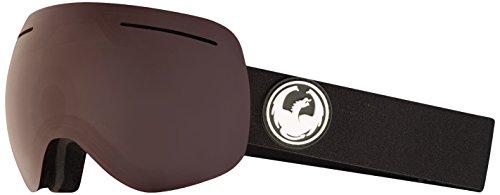 Dragon Alliance X1 Ski Goggles, Black, Large, Black/Luma Polarized Lens