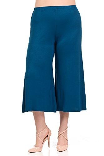 Pastel by Vivienne Women's Wide Leg Crop Culottes