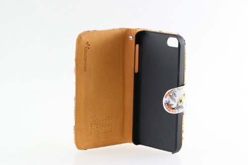 de sac de téléphone affaires couvrt l'iPhone 5 Bumper Smartphone flip brillant glitter chic de la mode clignotant motif de fleur strass