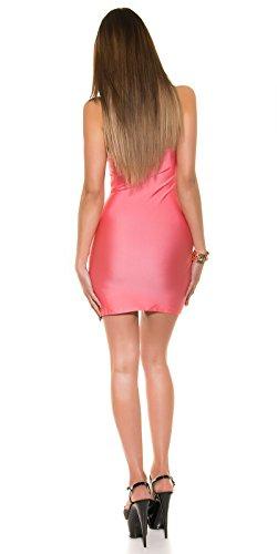 KouCla - Vestido - para mujer Coral