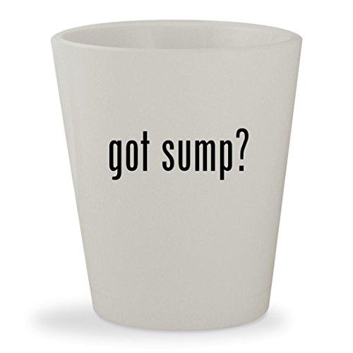 Wet Dry Refugium - got sump? - White Ceramic 1.5oz Shot Glass