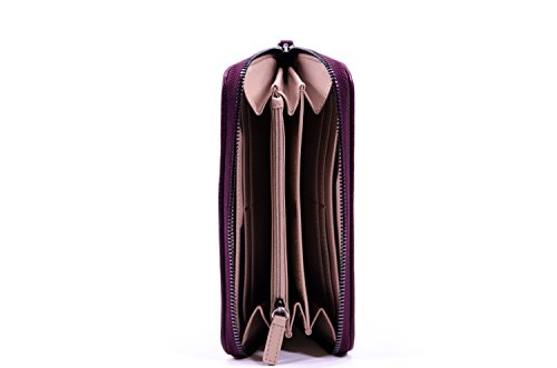 Liu-Jo Zip Around Grande Imperia Bark Brown