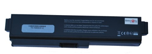 Battery1inc 12-Cells PA3728U-1BRS Laptop Battery for Toshiba Satellite A660 A660D A665-S5199X A665D-S6075 S6084 C645D C650 C650D C655-S5090 C655D C665 C660D-155 C670-113 L510 L515 L515D L630 L640 L645 L645D L650 L650D L655 L655D L670 L670D L755 L755D P755-S5263 L755-S5246 L775D A660D-ST2NX2 L635 L735 L645D Satellite PRO L630-14L C660-16W Series NoteBook PCs