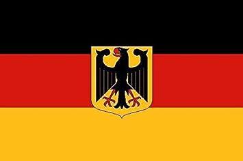 Fahne Flagge Europa mit Deutschland 20 x 30 cm Bootsflagge Premiumqualität