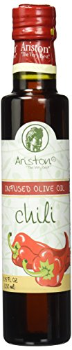 (Ariston Roasted Chili Infused Extra Virgin Gourmet Olive Oil (Product of Greece) 250 ML)