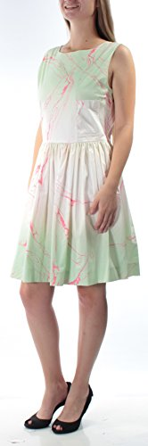 Marc Jacobs Wrap - Marc by Marc Jacobs Women's Tie Back Dress Light Mint Multi 10