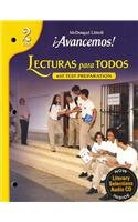 ¡Avancemos!: Lecturas para todos (Student) with Audio CD (Spanish Edition)