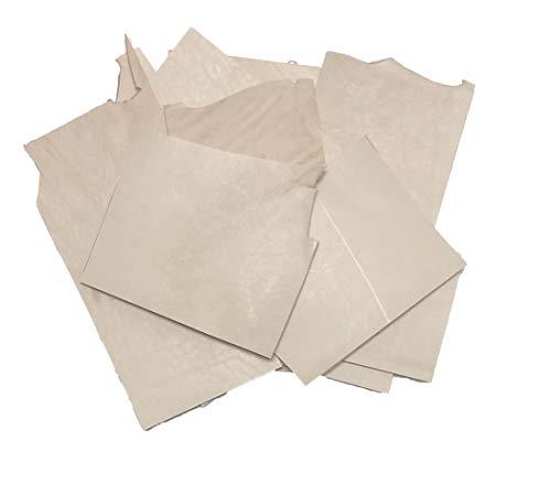 Vegetable Veg Tan Tooling Cowhide Leather Scrap Bag 2 Pounds Remnants 6-9 oz