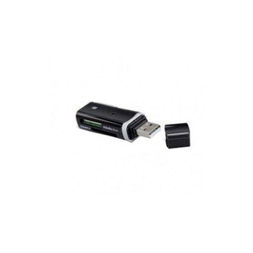 iBall 48 in 1  CR 222  Black Card Reader