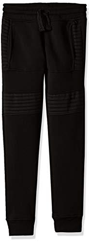 (Southpole - Kids Big Boys Active Basic Jogger Fleece Pants, Black Biker, X-Large)
