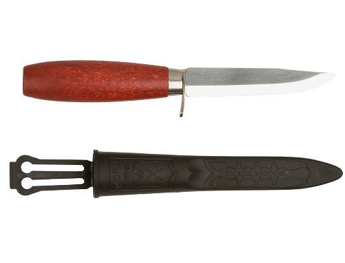 Morakniv Classic Craftsmen 611 Utility Knife with Carbon Steel Blade and Finger Guard, 3.9-Inch by Morakniv