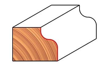 38-362 , Freud 1-9//16-Inch Cove and Bead Bit Dia. Quadra-Cut