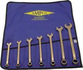 7- Piece Combination Wrench Set w/Vinyl Rol (065-M-41) Category: Combination Wrench Sets