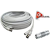 ACELEVEL RG59 PREMIUM UL LISTED 100FT CABLE FOR SDI NIGHT-OWL SYSTEMS WHITE COLOR