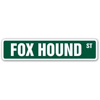 """COONHOUND Street Sign dog pet coon hound parking 18/"""" Wide Indoor//Outdoor"""