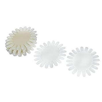 Amazon.com: eDealMax plástico Práctica Rueda Consejos Junta ...