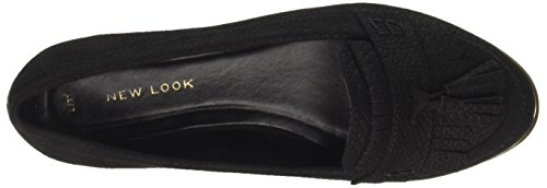 Knizzy Look Black Donna Chiusa Punta 1 Ballerine Nero New APqw5Hq
