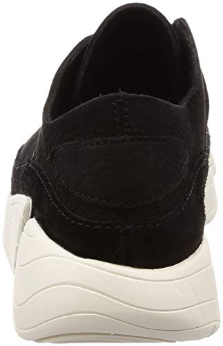 Mujer Trigenic Originals Clarks Entrenadores Textile Black Evo Leather zaR4qA