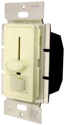 Enerlites 50121-A 700-Watt Single Pole LED Slide/Switch Dimmer, 120-Volt AC, 60Hz, Almond