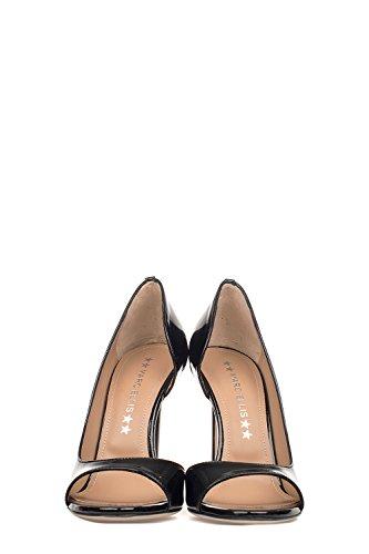 Mujer Zapatos Altos Marc Ellis Cuero Negro Ma3005black Bvnq5xXq
