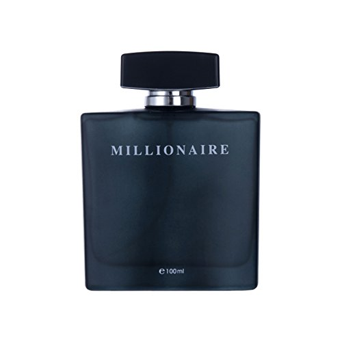 Perfume&Beauty Perfume Eau de Parfume for Men, 3.4 oz Spray Parfume for Men 100 ML- Black Millionaire from Perfume&Beauty