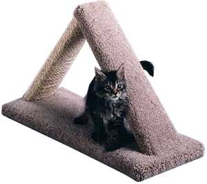 Cat Scratch Triangle : Color NATURAL : Size 16 INCHES, My Pet Supplies