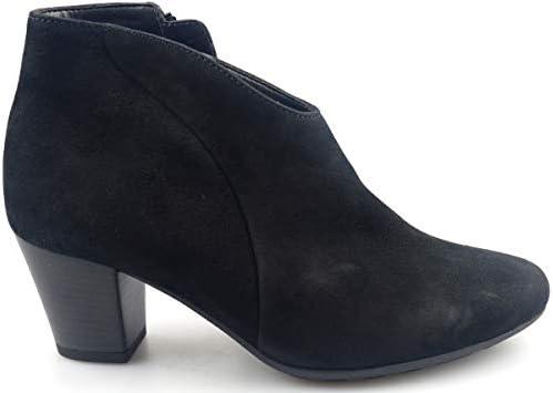 Gabor 36.580.47 suède laarzen Black Wide Fit