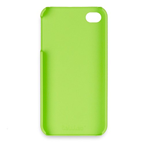 Telileo 0213 Back Case für Apple iPhone 4 grün