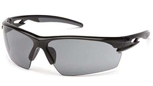 Pyramex Safety VGSB8120DT Semtex Safety Glasses with Military/Police Grey Anti Fog - Safety Military Glasses