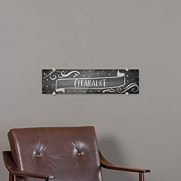 CGSignLab 24x6 Chalk Banner Premium Acrylic Sign Clearance 5-Pack