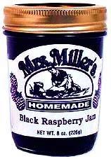 Black Raspberry Jam: 3 jars Mrs Millers Homemade by Mrs. Miller's