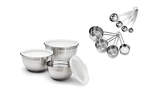 Amazon.com: Cuisinart - Juego de 3 cuencos para mezclar ...