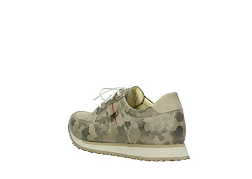 5804 Para Camouflage Stretch 10820 Mujer Leder Zapatillas Wolky 30939 dqtWdA