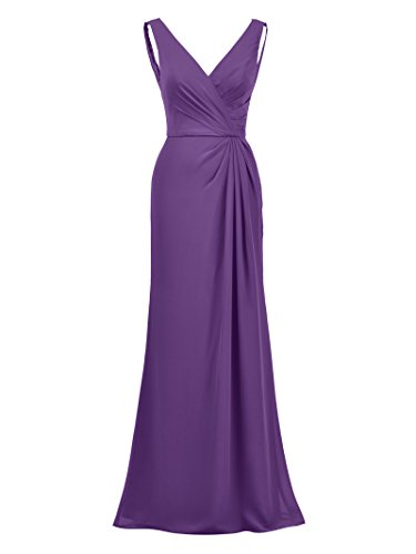 Alicepub Gown Elegant Evening Dress Mermaid Maxi Purple Bridesmaid Formal Dresses Prom Z6ZwPqrx