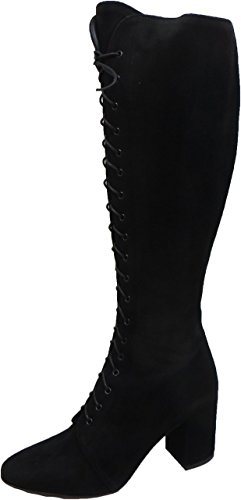 FRANCO RUSSO Size 4 Women's 6161 Suede Knee High Boots