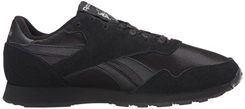 Reebok Royal Fashion Carbon Sneaker Men's Classic Nylon Black Black xCwHpxUr5