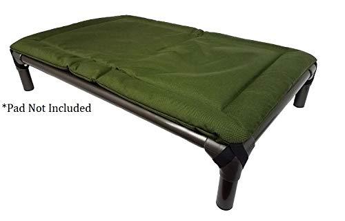 Kuranda Walnut PVC Chewproof Dog Bed - XL (44x27) - Cordura - Smoke by Kuranda (Image #7)