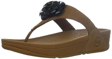 FitFlop Women's Florent Thong Sandal,Tan,5 M US